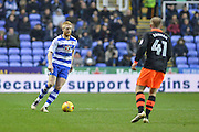 Reading FC defender (5) Paul McShane during the EFL Sky Bet Championship match between Reading and Sheffield Wednesday at the Madejski Stadium, Reading, England on 10 December 2016. Photo by Mark Davies.