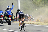 Sykkel<br /> Foto: PhotoNews/Digitalsport<br /> NORWAY ONLY<br /> <br /> Big crash with CANCELLARA Fabian of Trek Factory Racing  during the stage 3 of the 102nd edition of the Tour de France 2015 with start in Antwerp and finish in Huy, Belgium (159 kms) *** HUY, BELGIUM - 6/07/2015