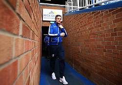 Adam Smith of Bristol Rovers arrives at The ABAX Stadium, for the Sky Bet League One fixture against Peterborough United - Mandatory by-line: Robbie Stephenson/JMP - 24/03/2018 - FOOTBALL - ABAX Stadium - Peterborough, England - Peterborough United v Bristol Rovers - Sky Bet League One