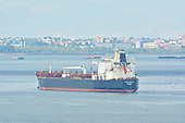 Tanker 'Pyxis Delta' in the Port of New York
