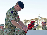 Prince Harry Attends Remembrance Service, Afghanistan