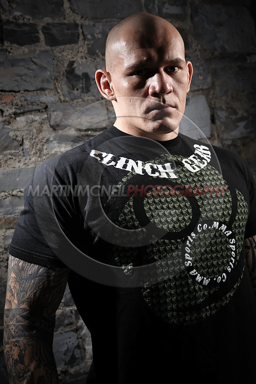 "A portrait of mixed martial arts athlete Krzysztof ""The Polish Experiment"" Soszynski"