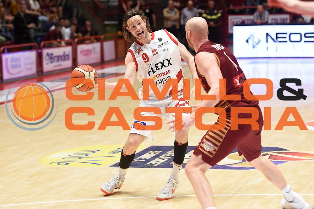Antonutti Michele<br /> The Flexx Pistoia Basket - Umana Reyer Venezia<br /> Lega Basket Serie A 2016/17<br /> Pistoia, 19/05/2017<br /> Foto Ciamillo-Castoria