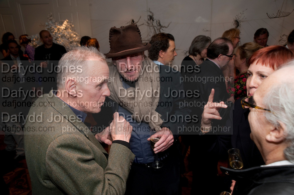 JAMES FOX; RICHARD STRANGE, Book launch party for the paperback of Nicky Haslam's book 'Sheer Opulence', at The Westbury Hotel. London. 21 April 2010