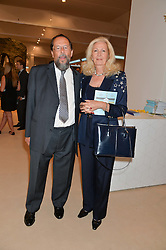 The EARL & COUNTESS OF STOCKTON at the Masterpiece Marie Curie Party supported by Jeager-LeCoultre held at the South Grounds of The Royal Hospital Chelsea, London on 30th June 2014.