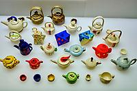 Chine, Hong Kong, Hong Kong Island, le Hong Kong Park, la Flagstaff house et musée des theieres // China, Hong-Kong, Hong Kong Island, Flagstaff house Museum of Tea Ware