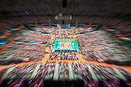 Poland, Warsaw - 2017 August 24: General view of the stadium during LOTTO EUROVOLLEY POLAND 2017 - European Championships in volleyball at Stadion PGE Narodowy on August 24, 2017 in Warsaw, Poland.<br /> <br /> Mandatory credit:<br /> Photo by © Adam Nurkiewicz<br /> <br /> Adam Nurkiewicz declares that he has no rights to the image of people at the photographs of his authorship.<br /> <br /> Picture also available in RAW (NEF) or TIFF format on special request.<br /> <br /> Any editorial, commercial or promotional use requires written permission from the author of image.