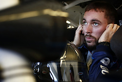 September 14, 2018 - Las Vegas, Nevada, United States of America - Ross Chastain (42) straps into his car to practice for the DC Solar 300 at Las Vegas Motor Speedway in Las Vegas, Nevada. (Credit Image: © Chris Owens Asp Inc/ASP via ZUMA Wire)
