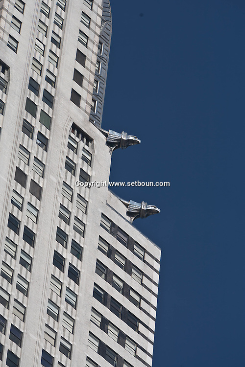 New York. Chrysler Building in midtown  Manhattan - United states / le Chrysler Building dans midtown   Manhattan