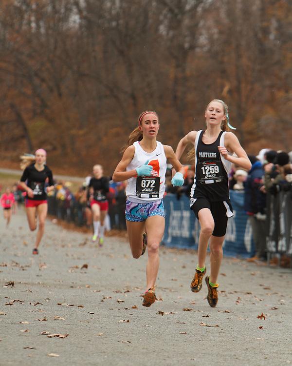 Foot Locker Cross Country Northeast Regional Championship race, Marissa Saenger, NY, Marisa Ruskan, NJ