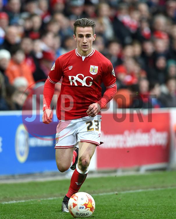 Joe Bryan of Bristol City  - Mandatory byline: Joe Meredith/JMP - 19/03/2016 - FOOTBALL - Ashton Gate - Bristol, England - Bristol City v Bolton Wanderers - Sky Bet Championship