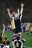 West Point, NY - Army plays Navy in a rugby match at the Anderson Rugby Center at the United State Military Academy on  Nov. 21, 2009. ©Tom Bushey / The Image Works