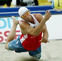 Volleyball, Sandvolleyball, World Tour Stavanger, Grand Slam, 01/07-05, <br />Ivar Horrem , <br />Foto: Halvard Hofsmo, Digitalsport