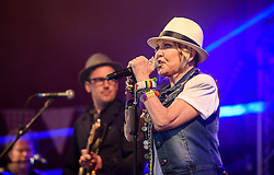 ©London News Pictures. Glastonbury Festival 2015<br /> <br /> Lulu performs on Avalon stage on Friday, Glastonbury Festival 2015, Worthy Farm, Pilton.<br /> <br /> Date: 26/06/2015<br /> Photographer: Artur Lesniak /LNP