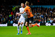 Leeds United forward Helder Costa (17), on loan from Wolverhampton Wanderers,  during the EFL Sky Bet Championship match between Leeds United and Hull City at Elland Road, Leeds, England on 10 December 2019.