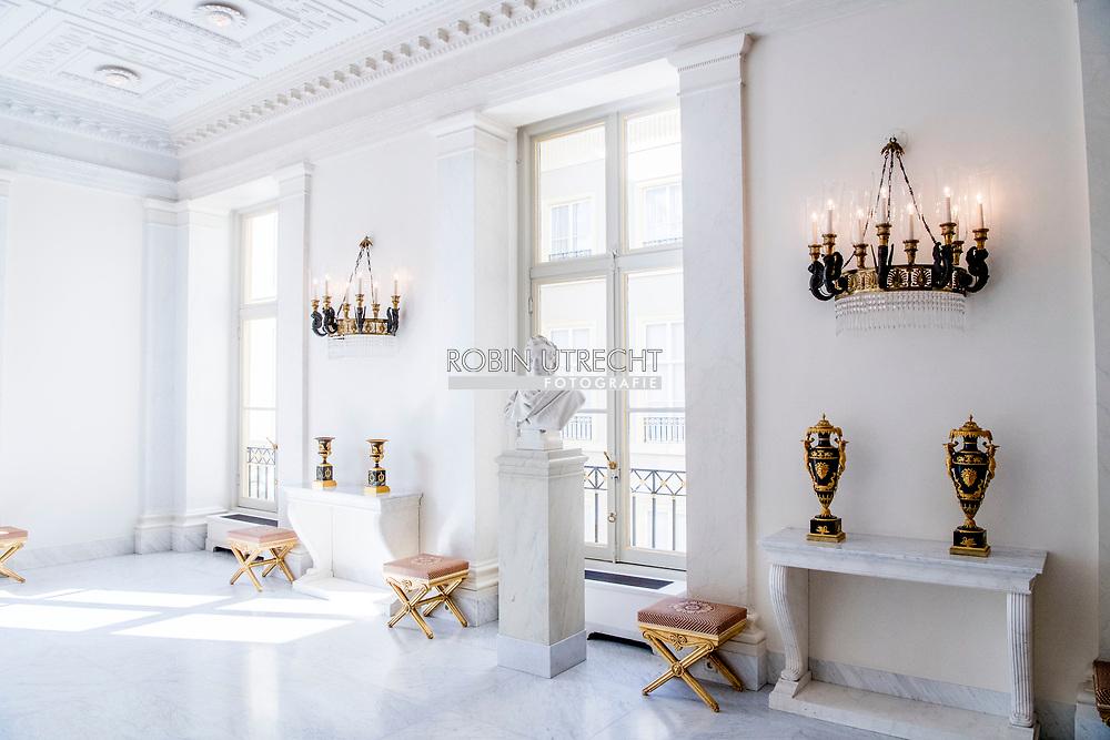 DEN HAAG - interieur van paleis Noordeinde . ROBIN UTRECHT