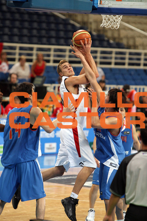 DESCRIZIONE : Atene Athens 2008 Fiba Olympic Qualifying Tournament For Men Canada Korea<br /> GIOCATORE : Levon KENDALL <br /> SQUADRA : Canada<br /> EVENTO : 2008 Fiba Olympic Qualifying Tournament For Men <br /> GARA : Canada Korea<br /> DATA : 16/07/2008 <br /> CATEGORIA : Tiro<br /> SPORT : Pallacanestro <br /> AUTORE : Agenzia Ciamillo-Castoria/G.Ciamillo<br /> Galleria : 2008 Fiba Olympic Qualifying Tournament For Men<br /> Fotonotizia : Atene Athens 2008 Fiba Olympic Qualifying Tournament For Men Canada Korea<br /> Predefinita :