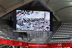 August 18, 2017 - Reims, France - Minute de silence attentats Barcelone (Credit Image: © Panoramic via ZUMA Press)