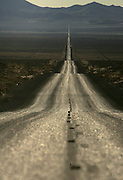 (WILD HORSE GATHE NEVADA) Cold Springs, Nevada Oct. 24, 2006 <br />  Old Highway 50 near Austin, Nev has been dubbed America's Loneliest Highway. (Suarez, Essdras M/ Globe staff)/ Travel
