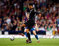 Football<br /> Carling Cup Second Round <br /> Manchester City's Joleon Lescott<br /> Crystal Palace v Manchester City at Selhurst Park Stadium, London 27/08/2009 Credit Colorsport / Kieran Galvin