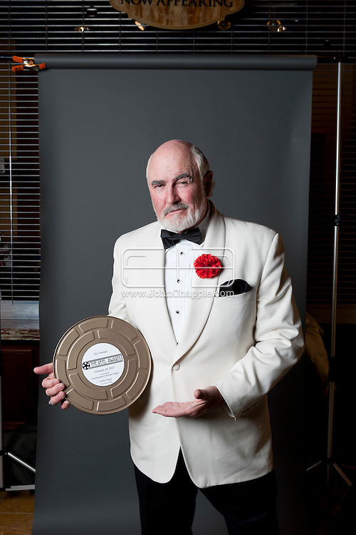 February 20th, 2012, Las Vegas, Nevada. The 21st Annual Reel Awards in Las Vegas where celebrity lookalikes show off their talents. Pictured is Dennis B Keogh as Sean Connery..PHOTO © JOHN CHAPPLE / www.johnchapple.com.