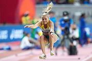 Brooke Stratton (Australia), Long Jump Women - Final, during the 2019 IAAF World Athletics Championships at Khalifa International Stadium, Doha, Qatar on 6 October 2019.