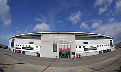 A general view of the Keepmoat Stadium home of Doncaster Rovers - Mandatory by-line: Joe Dent/JMP - 09/02/2019 - FOOTBALL - The Keepmoat Stadium - Doncaster, England - Doncaster Rovers v Peterborough United - Sky Bet League One