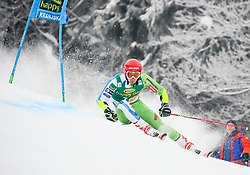 Zan Kranjec of Slovenia competes during 1st run of Men's GiantSlalom race of FIS Alpine Ski World Cup 57th Vitranc Cup 2018, on March 3, 2018 in Kranjska Gora, Slovenia. Photo by Ziga Zupan / Sportida