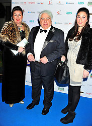 © under license to London News Pictures. 04/03/11. Farokh Engineer (centre) attends Lebara British Asian Sports Awards , Saturday 5th March 2011 at the Grosvenor House Hotel, Park Lane, London. Photo credit should read alan roxborough/LNP