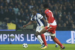 December 6, 2017 - Na - Porto, 06/12/2017 - Football Club of Porto received, this evening, AS Monaco FC in the match of the 6th Match of Group G, Champions League 2017/18, in Estádio do Dragão. Marega; Terence Kongolo  (Credit Image: © Atlantico Press via ZUMA Wire)