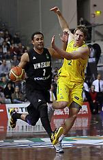 Auckland-Basketball-New Zealand v Australia Men