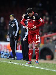 Bristol City's Greg Cunningham - Photo mandatory by-line: Joe Meredith/JMP - Tel: Mobile: 07966 386802 23/02/2013 - SPORT - FOOTBALL - Ashton Gate - Bristol -  Bristol City V Barnsley - Npower Championship