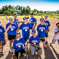 East Central School Community Education T-Ball team picture