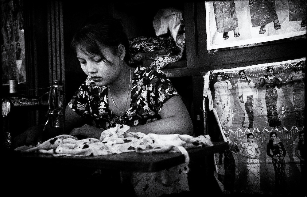 Bogyoke Aung San Market, Yangon (Rangoon) Myanmar (Burma) January 2012