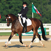 Nicole Chiappetti and Oxford at the 2010 North American Young Rider Championships in Lexington, Kentucky.