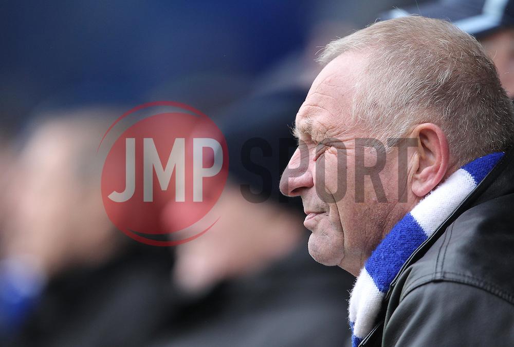 Bristol Rover fan - Mandatory byline: Paul Terry/JMP - 13/02/2016 - FOOTBALL - Fratton Park - Portsmouth, England - Portsmouth v Bristol Rovers - Sky Bet League Two