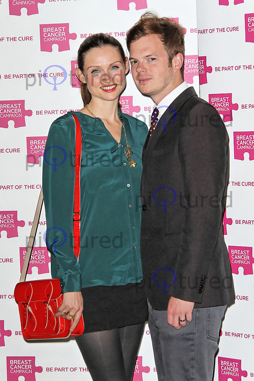 LONDON - OCTOBER 01: Sophie Ellis-Bextor; Richard Jones attended the Breast Cancer Campaign launch party at Vertigo, Tower 42, London, UK. October 01, 2012. (Photo by Richard Goldschmidt)