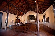 Interior of the Convento de Porta Coeli built in 1609 by the Dominican Order in San German Puerto Rico
