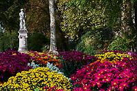 France, Bourgogne-Franche-Comté, Yonne (89), Sens, le square Jean Cousin // France, Burgundy, Yonne, Sens, Jean Cousin square