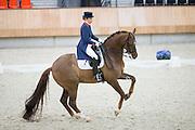 Lynne Maas - Zamora<br /> KNHS Indoorkampioenschappen 2016<br /> © DigiShots