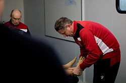 Matty Taylor undergoes a medical joining Bristol City from Bristol Rovers - Mandatory by-line: Joe Meredith/JMP - 31/01/2017 - FOOTBALL - Ashton Gate Stadium - Bristol, England - Bristol City New Signing