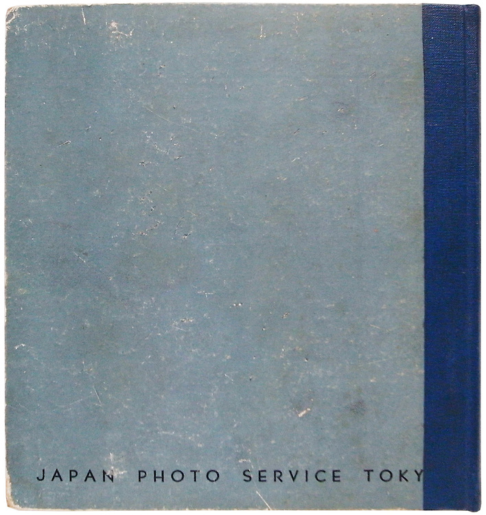 Girls of Japan<br /> 1939<br /> <br /> Propaganda publication from Japan by top photographers of the Shinko Shashin genre of the 1930s. This includes Kimura Ihei (22 photos), Matsumoto Kenji (1 photo), Mitsuzumi Hiroshi (8 photos), Nojima Yasuzo (6 photos), Numano Ken (15 photos), Suzuki Masanori  (1 photo), Watanabe Yoshio (6 photos) and Yoshida Chiaki (1 photo).<br /> <br /> First edition, published in 1939 by Japan Photo Service with an introduction by Hasegawa Nyozeken.<br /> <br /> Size:&nbsp;7 1/4 x 7 1/2 inches (182 mm x 190 mm).<br /> <br /> Condition:&nbsp;Contents are very clean with some minor shelf wear to the cover. All pages and plates intact. The spine has been re-covered several years ago and partially overlaps the cover board text.<br /> <br /> Price &yen;95,000 JPY<br /> <br /> <br /> <br /> <br /> <br /> <br /> <br /> <br /> <br /> <br /> <br /> <br /> <br /> <br /> <br /> <br /> <br /> <br /> <br /> <br /> <br /> <br /> <br /> <br /> <br /> <br /> <br /> <br /> <br /> <br /> <br /> <br /> <br /> <br /> <br /> <br /> <br /> <br /> <br /> <br /> <br /> <br /> <br /> <br /> <br /> <br /> <br /> <br /> <br /> <br /> <br /> <br /> <br /> <br /> <br /> <br /> <br /> <br /> <br /> <br /> <br /> <br /> .