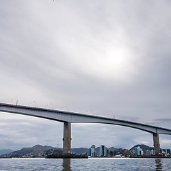 """""""Terceira Ponte (Vitória / VilaVelha - ES) fotografado em Vitória / Vilha Velha, Espírito Santo -  Sudeste do Brasil. Registro feito em 2008.<br /> <br /> <br /> <br /> ENGLISH:  Third Bridge photographed in Vitória / Vilha Velha, Espírito Santo - Southeast of Brazil. Picture made in 2008."""""""