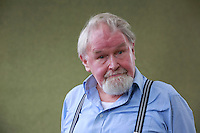 Alasdair Gray pictured during Edinburgh International Book Festival 2014 in Charlotte Square Gardens