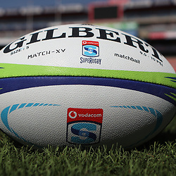 Match ball during the Jaguares Captain's Run at the Emirates Airlines Park Stadium,Johannesburg, South Africa. 20,07,2018 (Photo by  Steve Haag Jaguares)