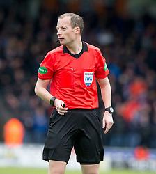 Referee Willie Callum  during the Ladbrokes Scottish Premier League match at St Mirren Park, St Mirren.