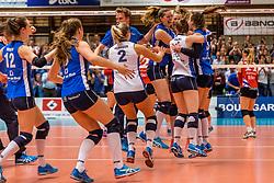 06-05-2017 NED: Finale play off Sliedrecht Sport - VC Sneek, Sliedrecht<br /> Sliedrecht is Nederlands kampioen 2016-2017 / Vreugde bij Sliedrecht