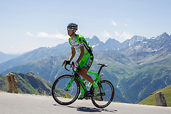 Luca Sterbini (ITA) of team Bardiani CSF during the 166.8 km long 6th stage from Lienz to Kitzbuheler Horn at 67th Tour of Austria, on July 8, 2015, Austria. Photo by Urban Urbanc / Sportida