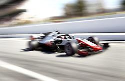 March 9, 2018 - Bracelona, Spain - Romain Grosjean, Haas..Motorsports: FIA Formula One World Championship 2018, Test in Barcelona, 2018-03-09..(c) JERREVÃ…NG STEFAN  / Aftonbladet / IBL BildbyrÃ¥....* * * EXPRESSEN OUT * * *....AFTONBLADET / 2800 (Credit Image: © JerrevÃ…Ng Stefan/Aftonbladet/IBL via ZUMA Wire)