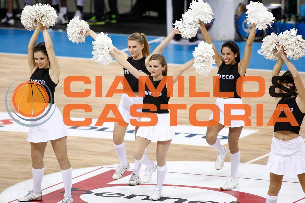 DESCRIZIONE : Torino Coppa Italia Final Eight 2011 Quarti di Finale Fabi Shoes Montegranaro Canadian Solar Virtus Bologna<br /> GIOCATORE :<br /> SQUADRA : Agos Ducato<br /> EVENTO : Agos Ducato Basket Coppa Italia Final Eight 2011<br /> GARA : Fabi Shoes Montegranaro Canadian Solar Virtus Bologna<br /> DATA : 10/02/2011<br /> CATEGORIA : cheerleaders<br /> SPORT : Pallacanestro<br /> AUTORE : Agenzia Ciamillo-Castoria/P.Lazzeroni<br /> Galleria : Final Eight Coppa Italia 2011<br /> Fotonotizia : Torino Coppa Italia Final Eight 2011 Quarti di Finale Fabi Shoes Montegranaro Canadian Solar Virtus Bologna<br /> Predefinita :